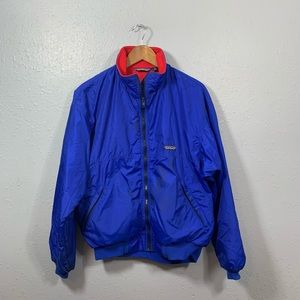 Patagonia Blue Zip Up Jacket Mens Size Large
